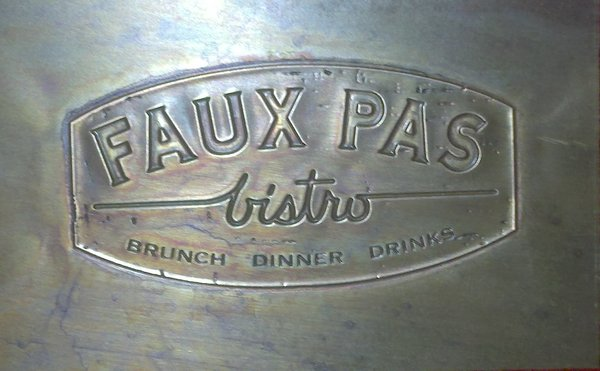 Bottomless Brunch at Faux Pas