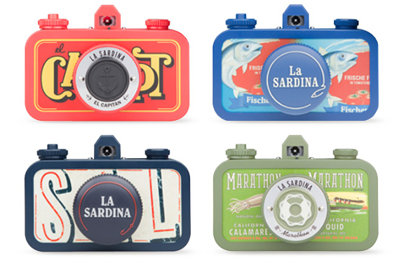 The La Sardina DIY from Lomography