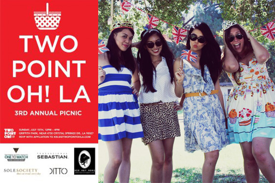 Two Point Oh! LA Blogger Picnic