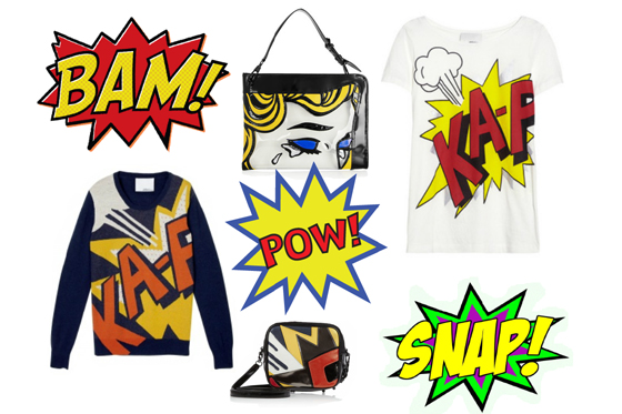 Ka-Pow! New! Phillip Lim Comic
