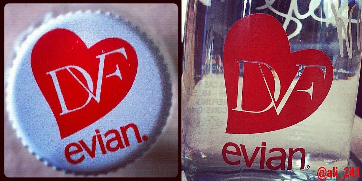 Evian + DVF
