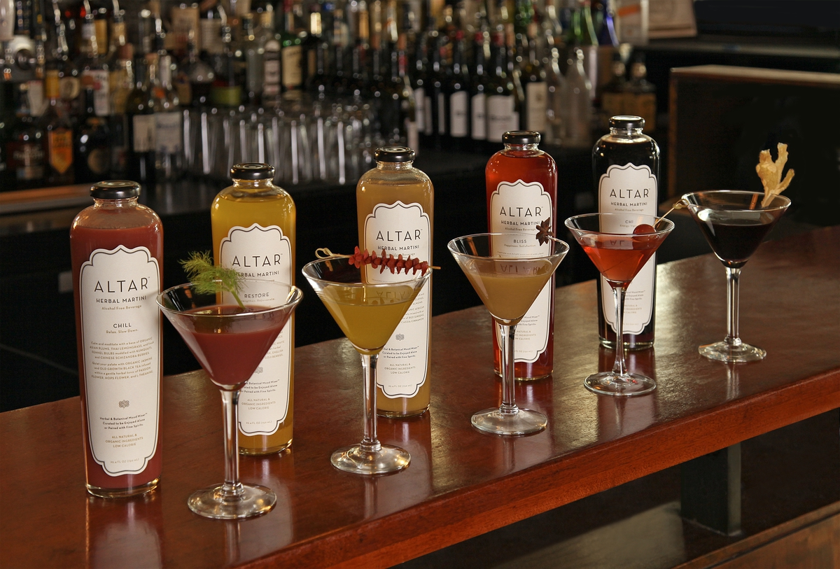 ALTAR Herbal Martinis!