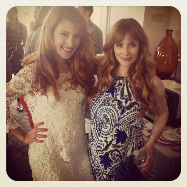 With the lovely mom-to-be, Jamie Ray Newman