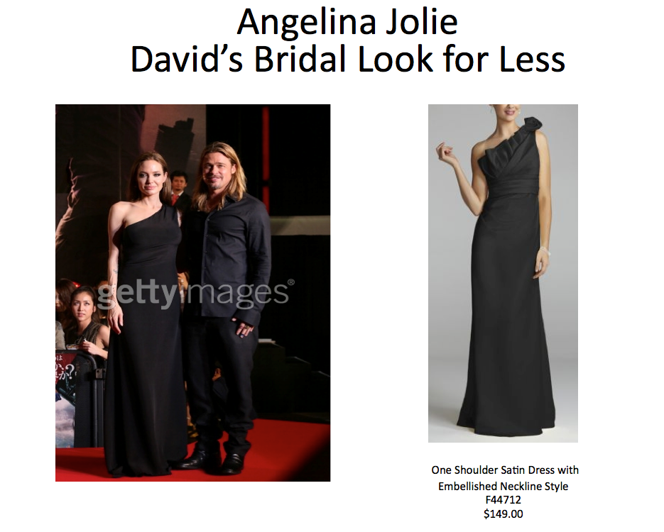Angeline Jolie Look For Less