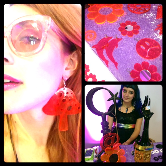 Bought some amazing earrings from Marina Finini! *photo credit TGIFguide
