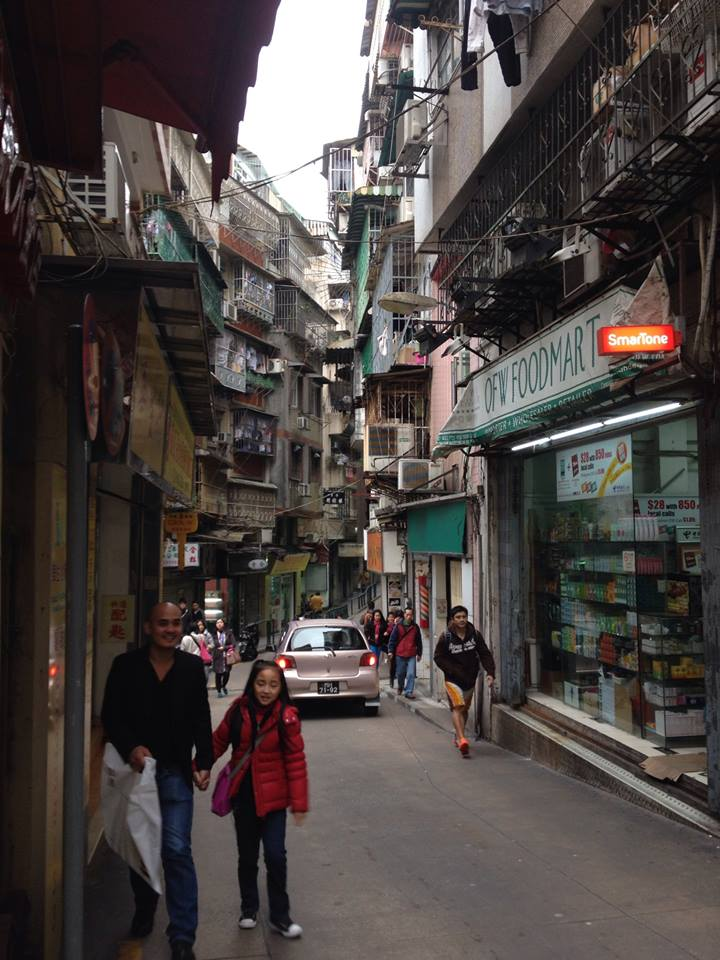 The Portuguese influence on Macau somehow meshes beautifully with the Chinese everything else!