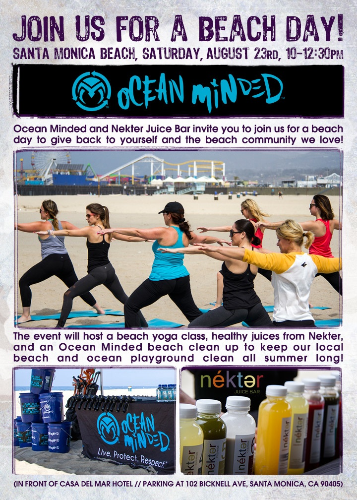 Ocean Minded Lululemon Nekter Event Flyer 8.23 copy