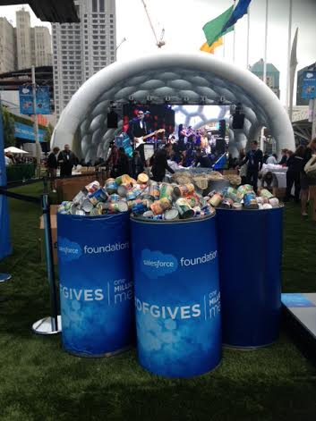 Salesforce and Marc Benioff's Million Meals Campaign