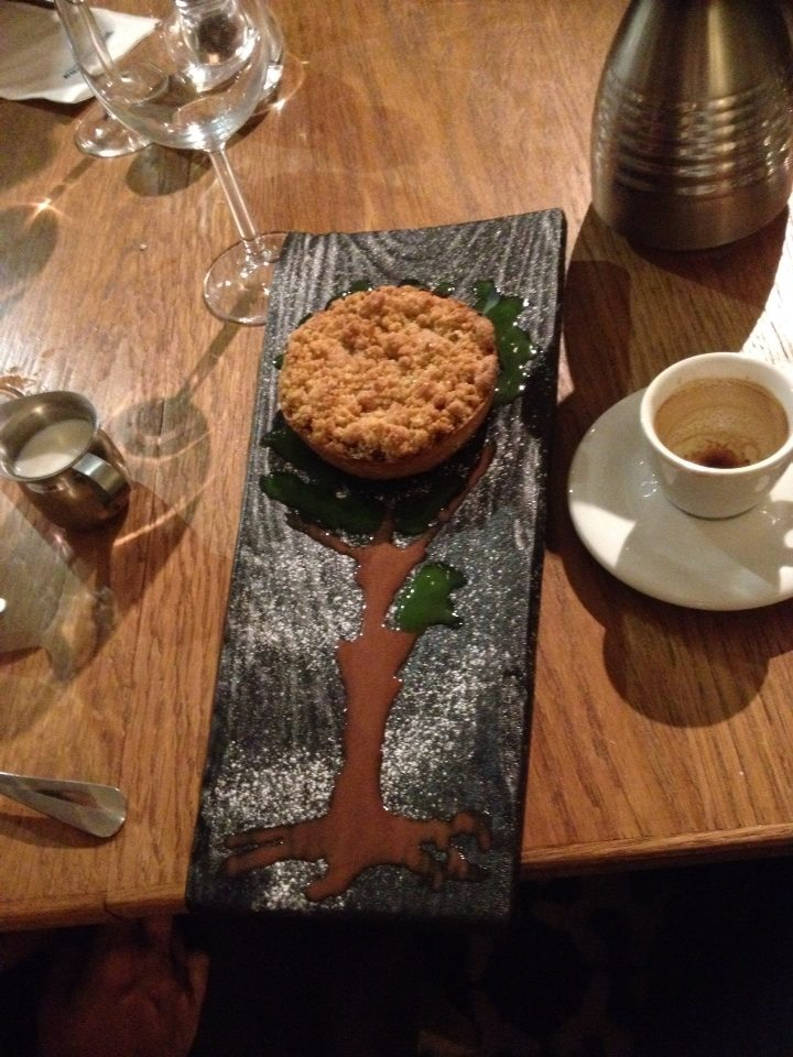 Apple Crumble Dessert!