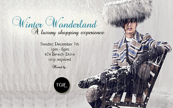 Winter Wonderland : A Luxury Shopping Experience
