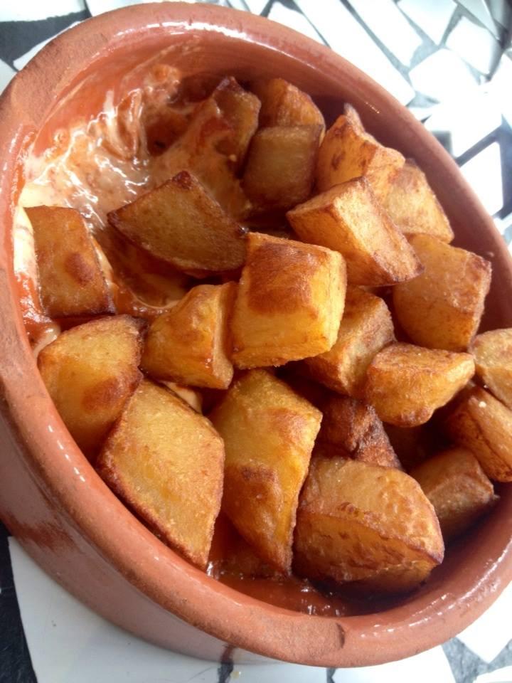 Patatas Bravas, my favorite dish!