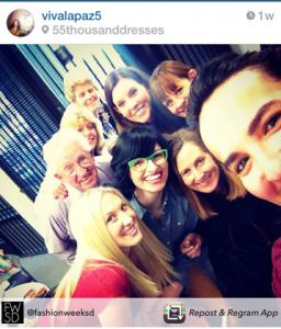 O yes we took a selfie