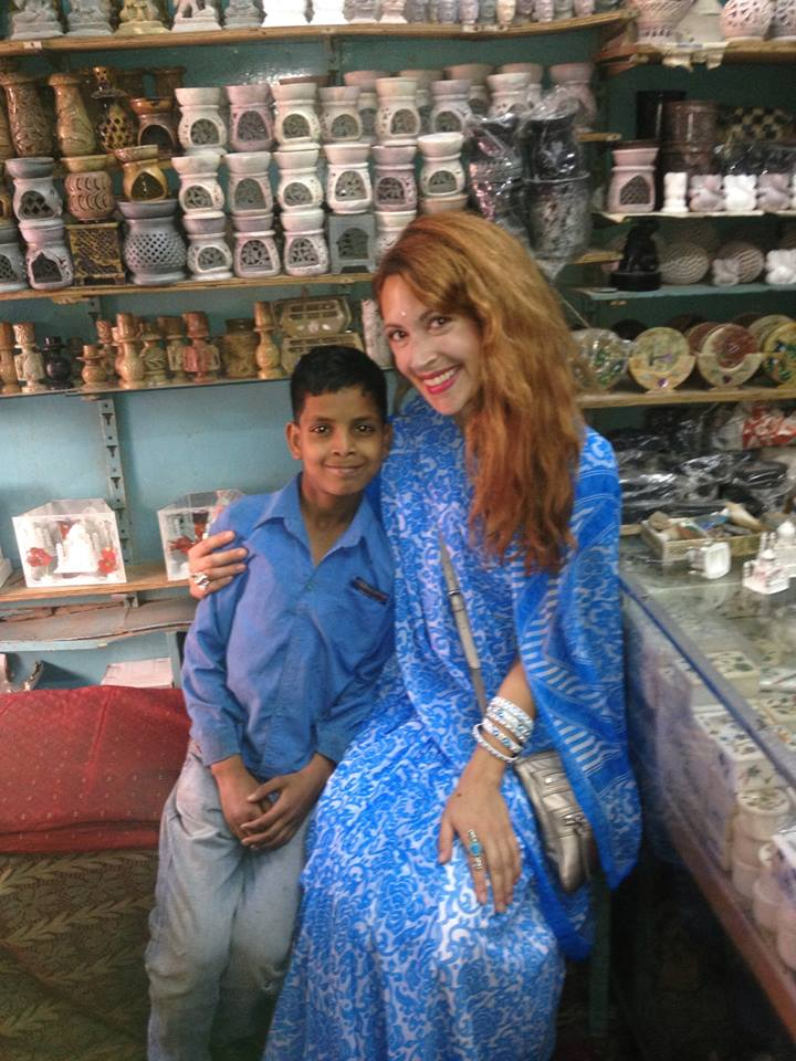 Local boy in Agra