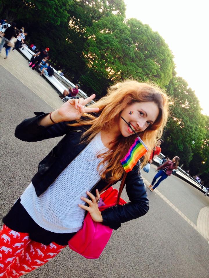 Gay Pride Parade in Tokyo