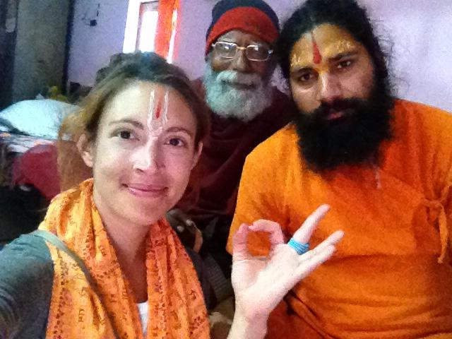 My Swami and friend.