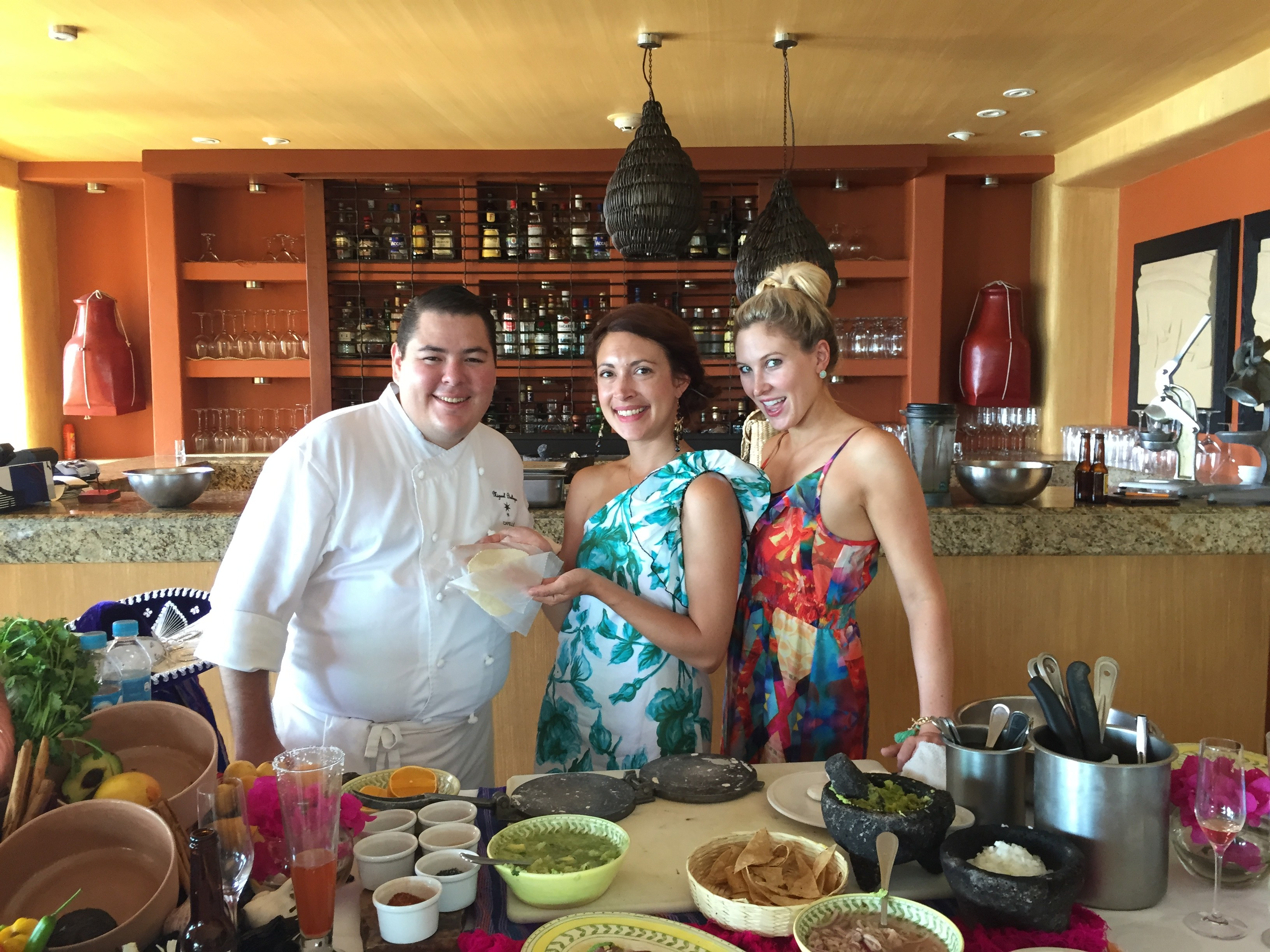 What's Cooking or Should We Say Who's Cooking at Capella Ixtapa?