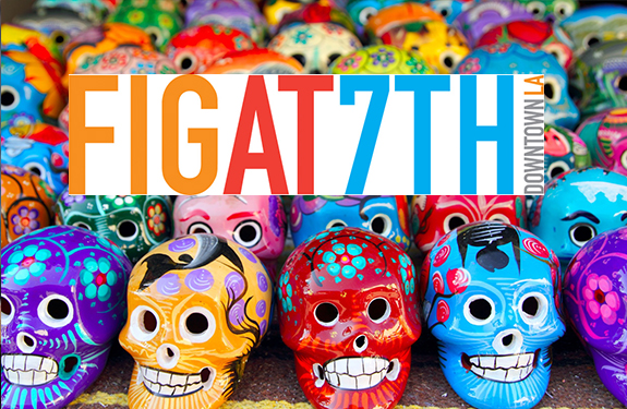 Celebrate Day of the Dead at FIGat7th in DTLA!