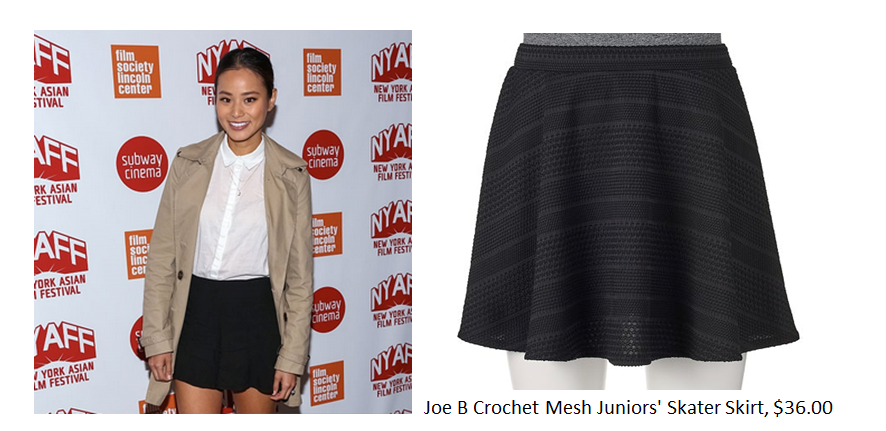Steal Her Skirt Style: Jamie Chung