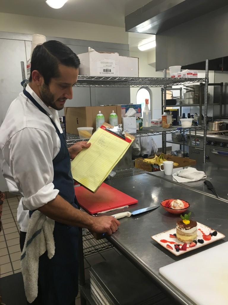 Chef Benjamin.