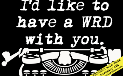 LA Art Event: Nov 4 – WRDSMTH's I'd Like To Have a WRD With You – His First SOLO show
