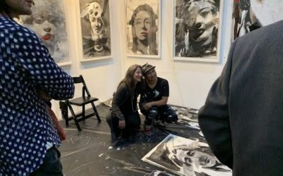 Annual LA Art Show Wraps Up Its Benchmark 25th Year