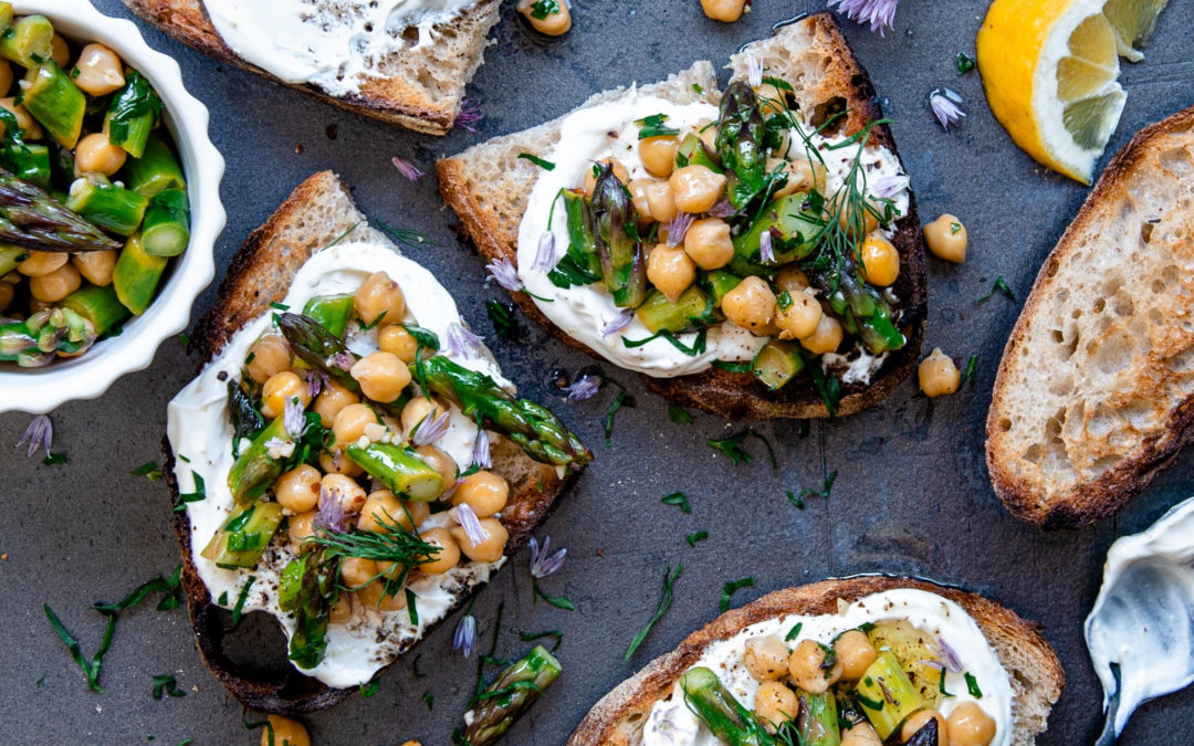 Move over avocados, say hello to Chickpea Toast